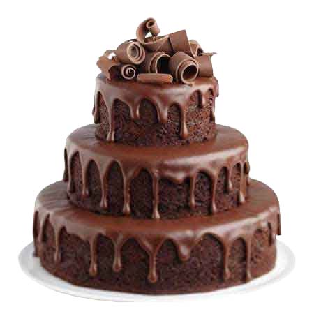 Order Chocolate Fountain Cake Delivery