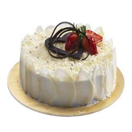buy Online awesome White Forest Cake Delivery