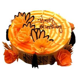 Send Online 1 Kg Birthday Butter Scotch spl Cake