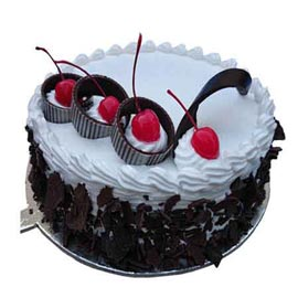 Send Online 1 Kg Black Forest cherry Cake
