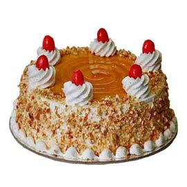 buy Online 1 Kg Butter Scotch delight Cake