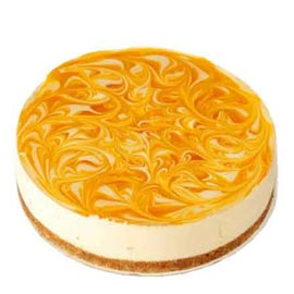 buy 1 Kg butterscotch Cheese Cake Online Delivery