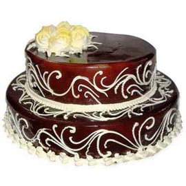 Send Online 2.5 Kg Chocolate celebration Cake