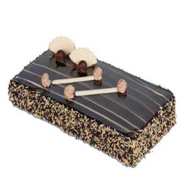 buy Online 1 Kg Chocolate flex rectangle Cake