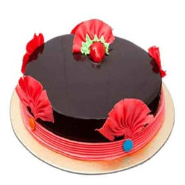 free home Delivery of Half Kg Chocolate Love Cake