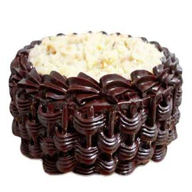 Send Online 1 Kg Chocolate marble Cake
