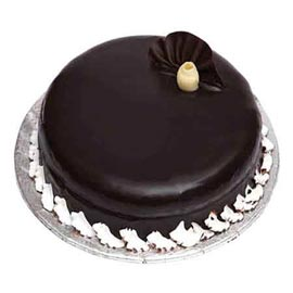 Send 1 Kg spl Chocolate punch Cake from local Bakery
