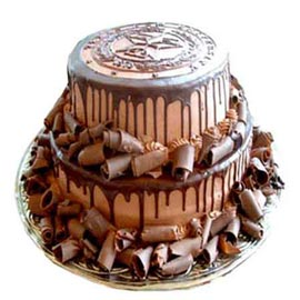 buy Online 2.5 Kg Chocolate rich Party Cake