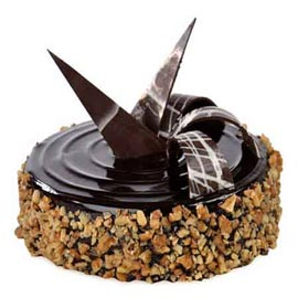 Send Online 1 Kg Chocolate walnut Cake