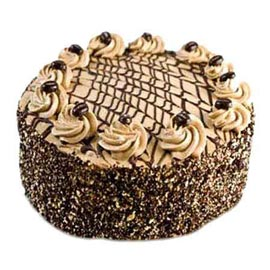 Send 1 Kg Coffee Cake Online Delivery