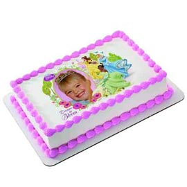 Send 1 Kg rectangle shape Photo Cake available in all flavors