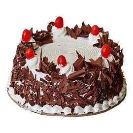 online Delivery of Half Kg Fresh Black Forest Cake