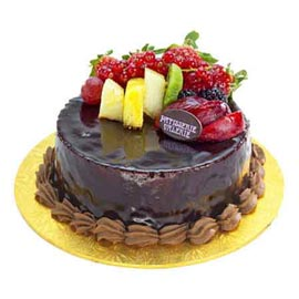 online Delivery of 2 Kg German Truffle Fruit Cake