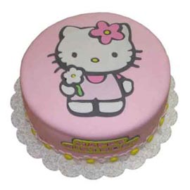 buy Online Pink kitty Cake Delivery available in all flavors
