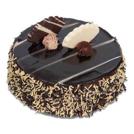 1 Kg premium Chocolate Midnight Cake Delivery