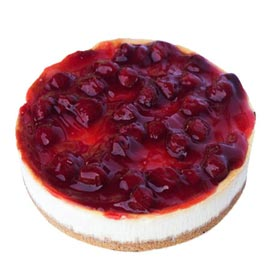 24 hrs Online Strawberry Cheese Cake Delivery