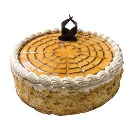half Kg Butter Scotch crush Cake Midnight Delivery