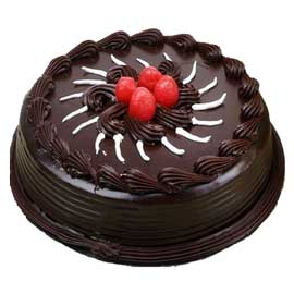 24 hrs Delivery of Half Kg Chocolate flex Cake