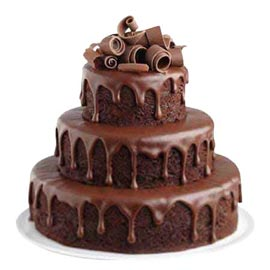 Send Delivery of 3.5 Kg Chocolate fountain Cake