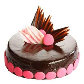 Send 1 Kg Chocolate Pink delight Cake from local Bakery