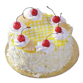 Send Online Half Kg delicious Pineapple Cake