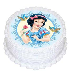 1.5 Kg fairy Photo Cake Midnight Delivery available in all flavors