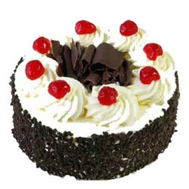 24 hrs Delivery of 1 Kg five star Black Forest Cake