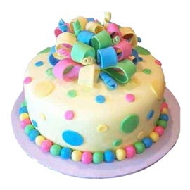 1 Kg fondent jems designer Cake Online Delivery available in all flavors