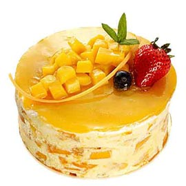 midnight Online Fresh mango Cake Delivery