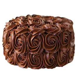 midnight Online Chocolate rose Cake Delivery