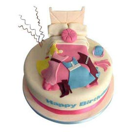 urgent Delivery of 1 Kg little angel designer fondant Cake available in all flavors