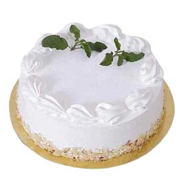 Send 1 Kg royal Vanilla Cake from local Bakery