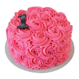 1 Kg special Love roses designer Cake Delivery available in all flavors