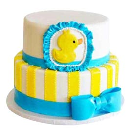 buy Online 2 Kg tweety two tier Cake available in all flavors